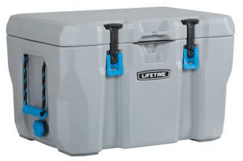 lifetime 55 quart cooler for sale
